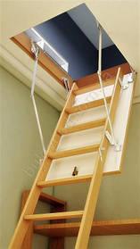 Горищні сходи Bukwood ECO+ Compact Long 130х70