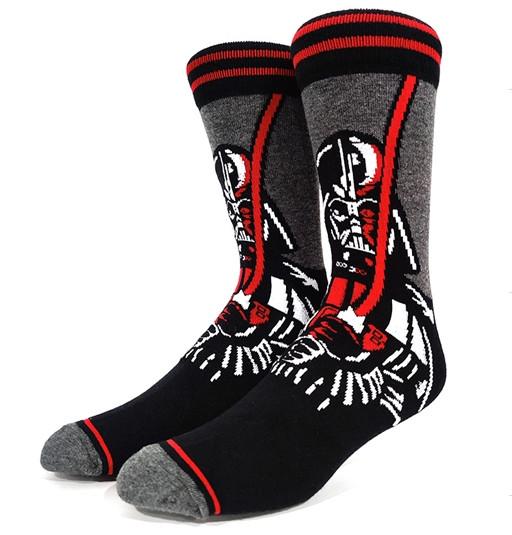 Высокие мужские носки с принтом Дарт Вейдера