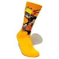 Мультяшные высокие мужские носки с принтом Наруто, фото 2