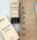 Тональный крем матирующий TopFace SkinWear SPF15 PT468 № 01 Слоновая кость, фото 7