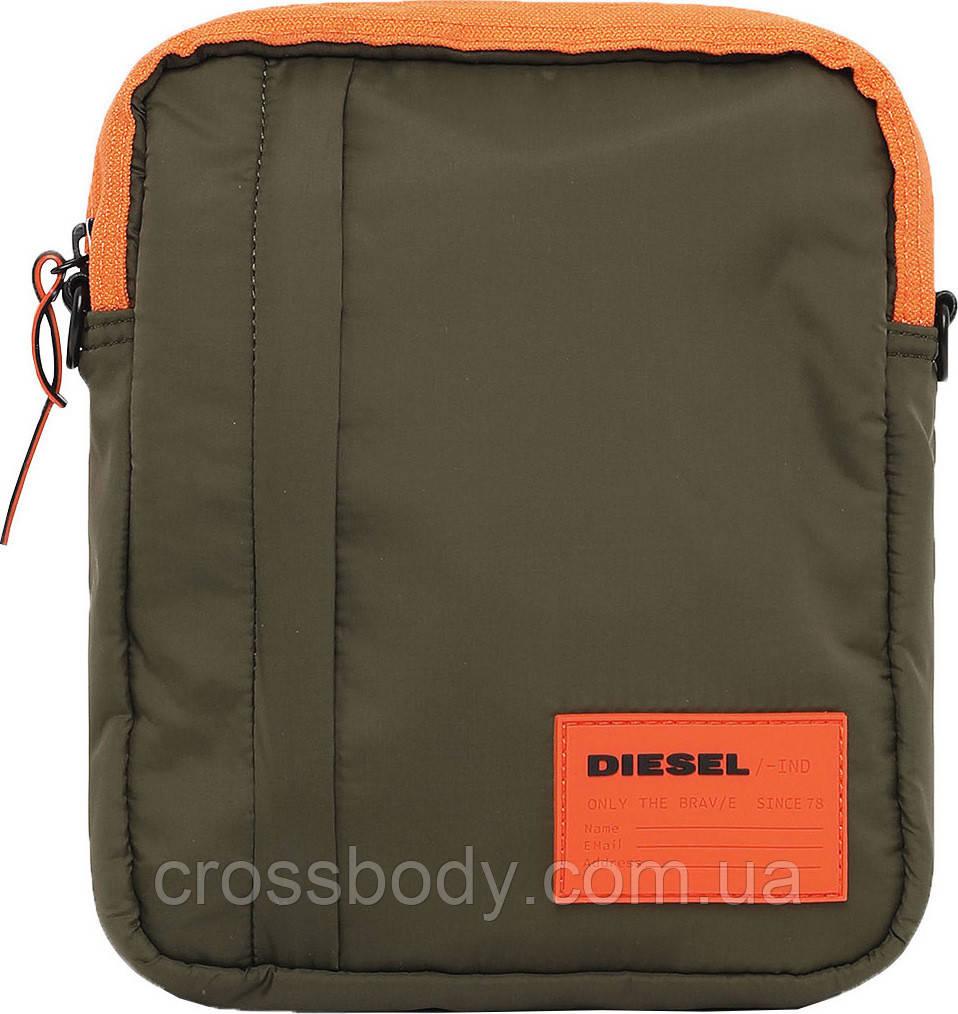 "DIESEL ""DISCOVER-ME"" ODERZO - cross bodybag X06266 PR230 Green"