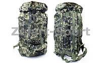 Рюкзак туристический (тактический) V40л (PL,NY,рр 58х36х16см, камуфляж Woodland)