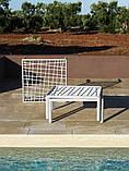 Журнальний столик  Komodo зі склом 70х70х32,5см agave, фото 5