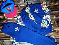 Детский спортивный костюм тройка Adidas для мальчиков, фото 1