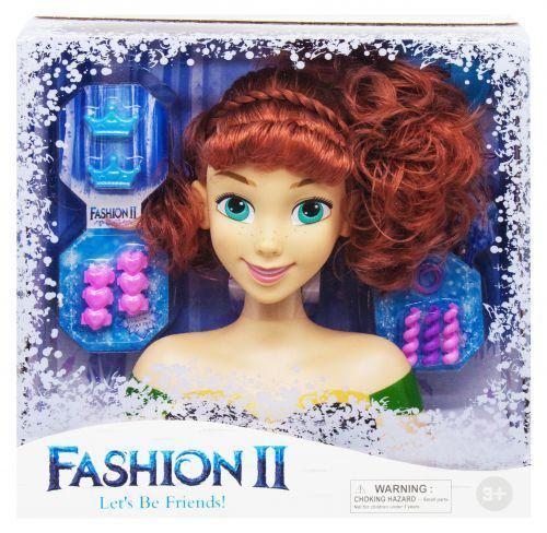 "Кукла-манекен для причёсок ""Анна""  LK1043-1 ( TC150636)"