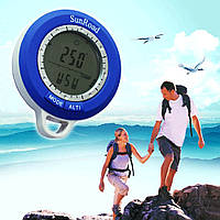 8в1 SR108 Термометр, компас, барометр, высотомер , часы, календарь, метео