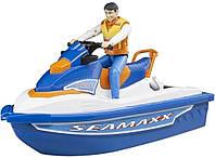 Набор: Игрушка - водный транспорт с водителем ТМ BRUDER