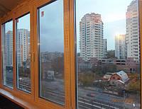 Остекление балконов в Киеве.