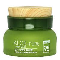 Увлажняющий и питательный крем для лица PeilSi Aloe PURE 98 % натурального экстракта Алоэ Вера