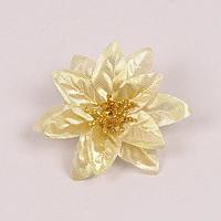 Головка Пуансетии золотая 75064 Минимальное кол-во для заказа этого товара: 36.