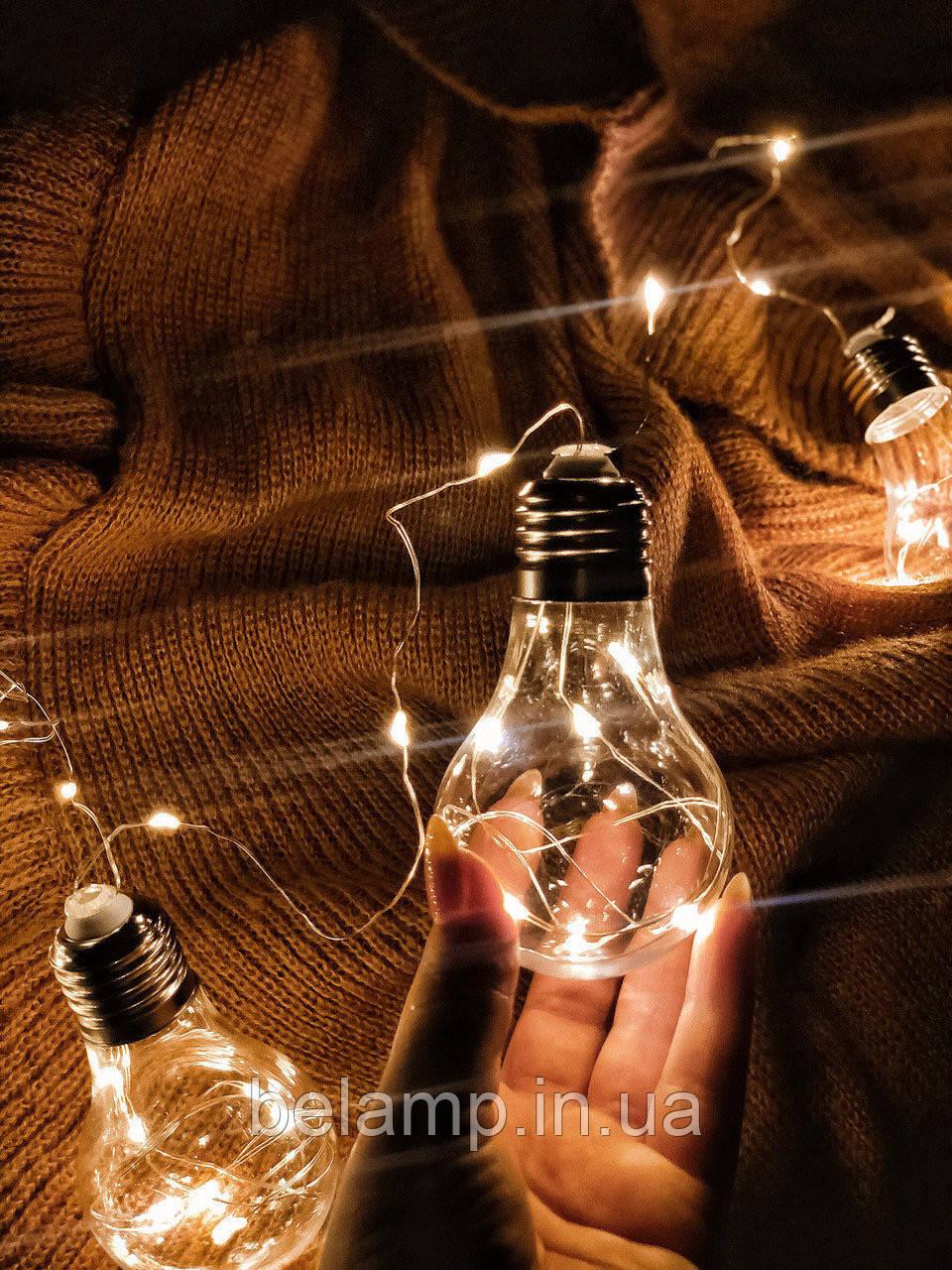 Гірлянда від електрики «Ретро-лампочки»
