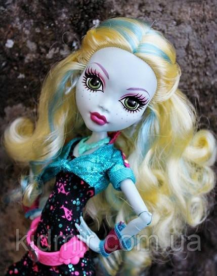 Лялька Monster High Лагуна Блю (Lagoona Blue) Нічне життя Монстер Хай Школа монстрів