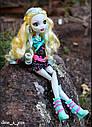 Лялька Monster High Лагуна Блю (Lagoona Blue) Нічне життя Монстер Хай Школа монстрів, фото 4