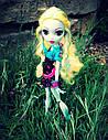 Лялька Monster High Лагуна Блю (Lagoona Blue) Нічне життя Монстер Хай Школа монстрів, фото 5