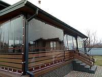 Мягкие окна, гибкие окна, прозрачные шторы ПВХ для беседок, террас, веранд, балконов
