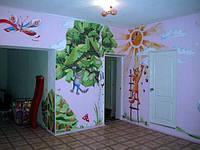 Роспись стен, потолков, любых предметов, подбор рисунка, цветовой гаммы! Ручная работа!