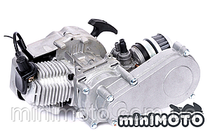 Двигатель минимото kpl. с редуктором 14z для детского квадроцикла и мотоцмкла, мини atv, cross