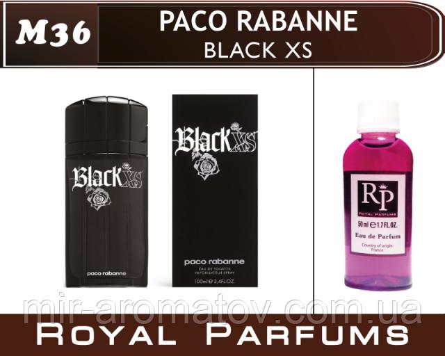 №36 Мужские духи на разлив Royal Parfums  «Black XS» от Paco Rabanne.    100мл