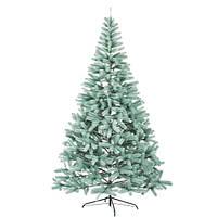 Искусственная литая елка Буковельская голубая