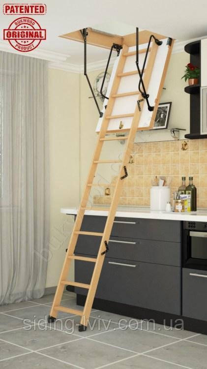 Горищні сходи Luxe Mini (кришка 46 мм)