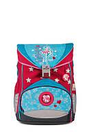 Рюкзак для девочки школьный 1 класс 33x23x40 см. Германия BST 690058 с наполнением ортопедический