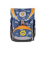 Немецкий школьный рюкзак для девочки 33x23x40 см. первых классов BST 690059 с наполнением ортопедический