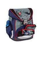 Рюкзак школьный для мальчика первые классы 33x23x40 см. Германия BST 690060 с наполнением ортопедический