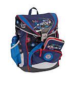 Рюкзак для мальчика школьный 33x23x40 см. Германия BST 690065 ортопедический с наполнением