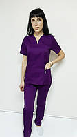Женский медицинский костюм Кенди коттон короткий рукав, фото 1