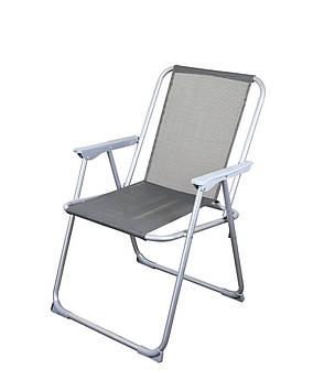 Серый складной стул, фото 2