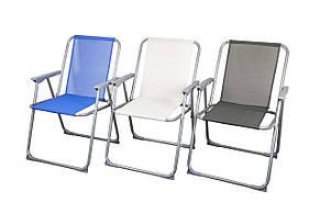 Серый складной стул, фото 3