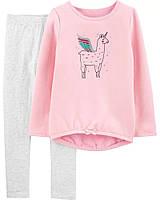 Детский костюм - свитшот и лосины Лама Картерс для девочки