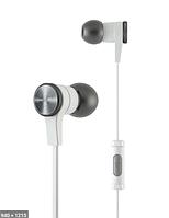 Навушники з мікрофоном T-E10 WHITE наушники с микрофоном