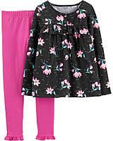Модный костюм - топ с пышным низом и лосины Единорог Картерс для девочки