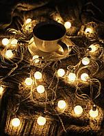 Светодиодная новогодняя гирлянда от электричества «Милые лампочки»
