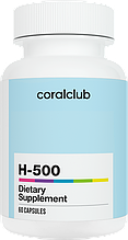 Антиоксидант  H-500 60 капс. США Корал Клаб (улучшеный Микрогидрин) Microhydrin Coral Сclub