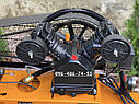 Компрессор воздушный Lex LXC100-2 масляный 100л 660л/мин ременной, фото 7