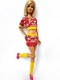 Одяг для ляльок Барбі - футболка, спідниця і гетри*, фото 6