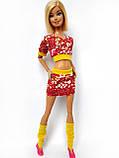 Одяг для ляльок Барбі - футболка, спідниця і гетри*, фото 4
