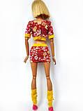 Одяг для ляльок Барбі - футболка, спідниця і гетри*, фото 10