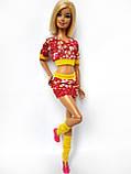 Одяг для ляльок Барбі - футболка, спідниця і гетри*, фото 8