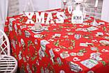 Скатертина Новорічна 120-150 «Happy New Year», фото 3
