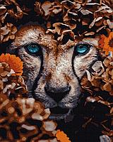 Картина по номерам. Львица , 40*50 см, Brushme