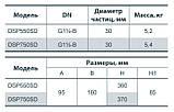Электронасос дренажный Насосы + DSP-750SD 4823072201337, фото 5