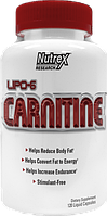 Nutrex Карнитин Lipo 6 Carnitine (120  liquid-caps)