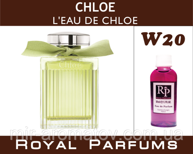 Жіночі парфуми на розлив Royal ParfumsChloe «L'eau de Chloe» №20 100мл