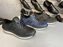 Мужские зимние кожаные кроссовки Gattini размеры 38,39,40,41,42,43,44-45, фото 3