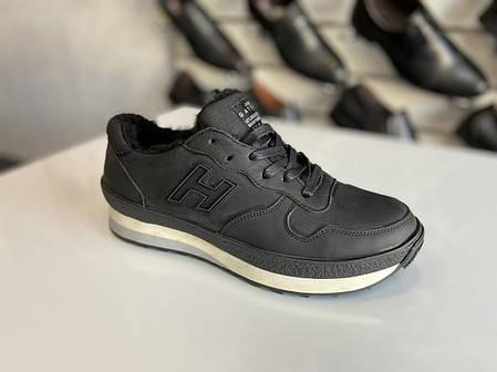 Мужские зимние кожаные кроссовки Gattini размеры 38,39,40,41,42,43,44-45, фото 2