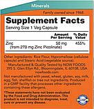 Цинк Пиколинат, Zinc Picolinate. NowFoods, 50 мг, 60 таб., фото 2