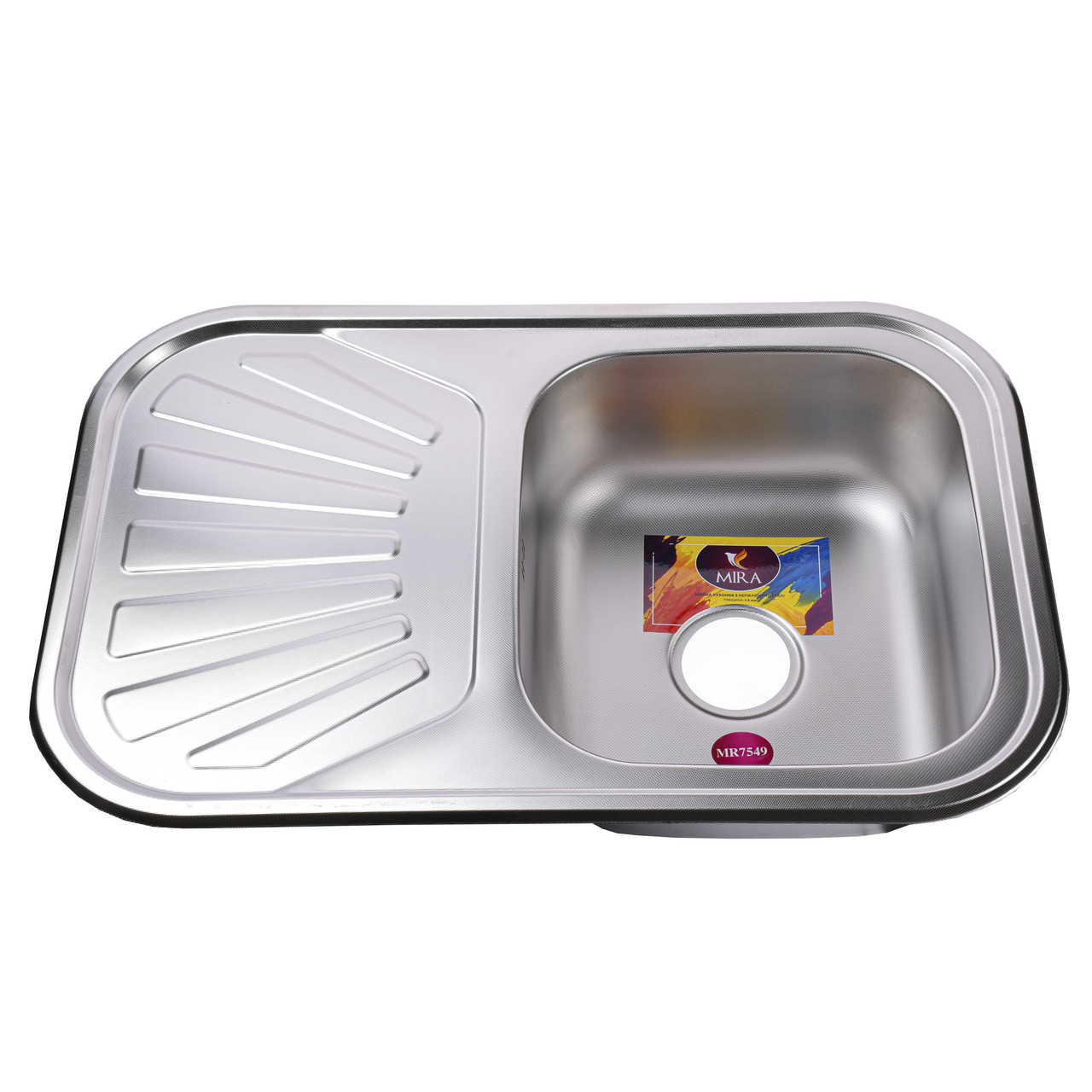 Мойка кухонная Mira MR 7549 D Decor